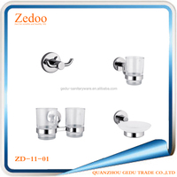Zedoo ZD-1100 13 Pcs Soild Brass Wall Mounted Bathroom Accessories