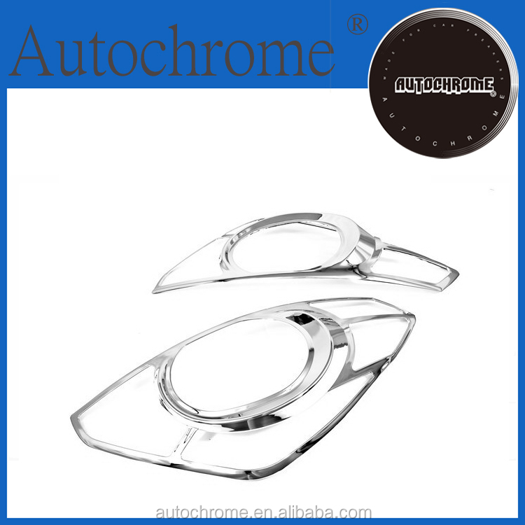 Factory price exterior accessories chrome head light cover trim for Hyundai H-1 iMax iLoad