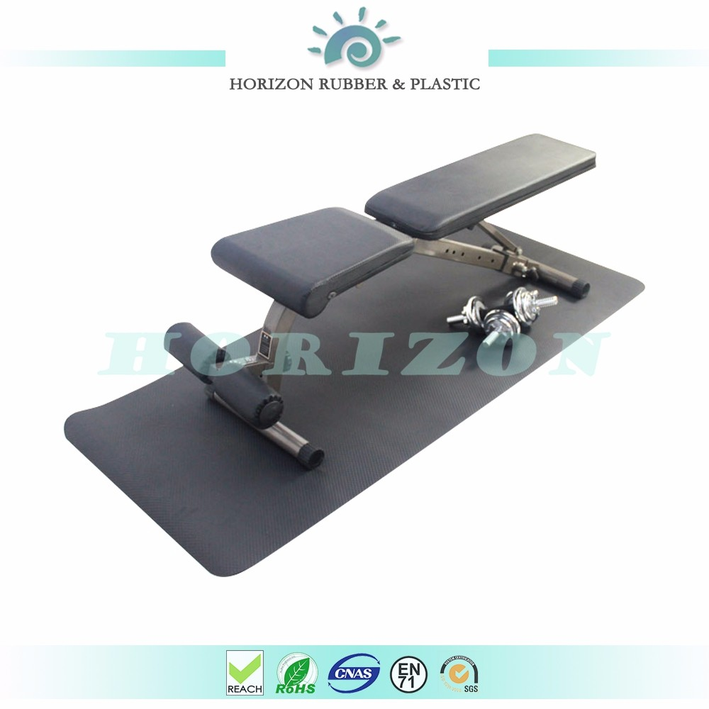 Multifunctional rubber exercise equipment mat treadmill mat with very fair price