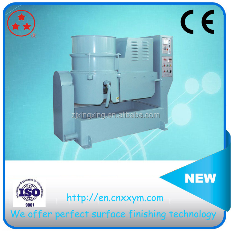 automatic centrifugal disc surface polishing grinding machine