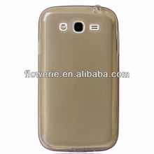 FL2443 2013 Guangzhou hot selling flexible transparent Soft TPU gel case for samsung galaxy grand duos i9082
