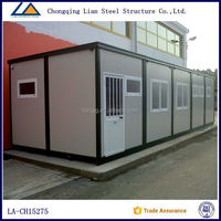 China Modular Homes luxury prefabricated flatpack prefab houses