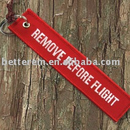 Embroidery Promotional Metal Key Chain