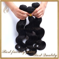 Wholesale price 100% sew in human weave three tone ombre brazilian hair weave wet and wavy