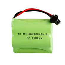 6V 2400mAh nickel metal hydride <strong>battery</strong> rechargeable nimh <strong>battery</strong> pack aa 6v RC electric toy <strong>battery</strong>