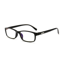 CHINA YIWU Trend Anti blue light blocking glasses Rectangle Thickness Frame Computer reading glasses 2018