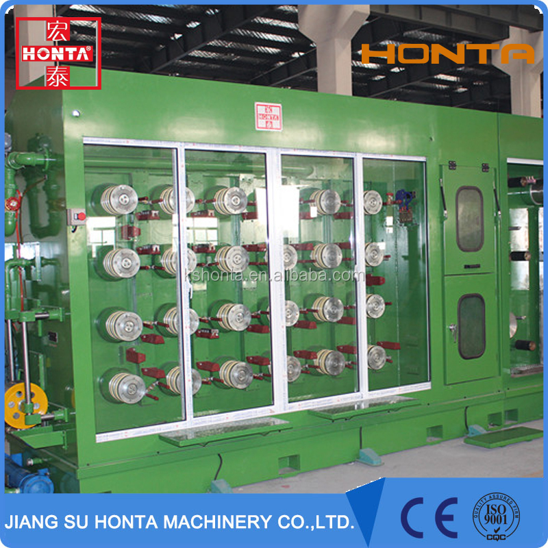 High quality electric cable making equipment wire drawing machine and production line equipment