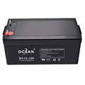 Low price high capacity 12v 230ah deep cycle agm battery for solar systems