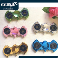 2017 new products gilding Batman spinners gadget handmade factory fidget spinner made in china