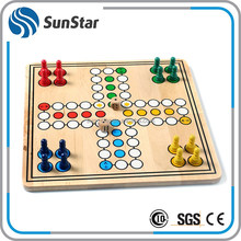 stable quality wooden board big size ludo game