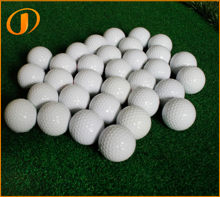 Best price 2 Layers White color Custom great quality golf ball White