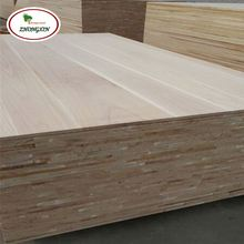 Types Of Paulownia Veneer Wood Timber 9Mm Solid Wood Board