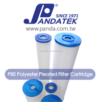 Absolute hydrophilic Polyethersulfone membrane 0.2 um PES pleated cartridge filter for distillation