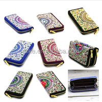 Chinese national wind, embroidery, a variety of style Zipper handbag