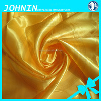 china supplier sale poly satin fabric satin different kinds wedding materials
