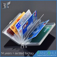 Trade Assurance Customized metal credit cardholder