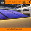 Electrical Telescopic Seating Retractable Bleachers Seating