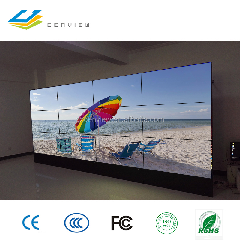 55 inch wall mounted low price 1080p led video wall on sale with high quality