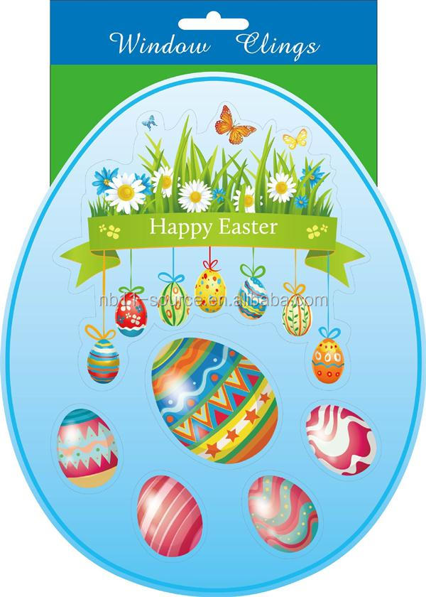 Easter eggs Window Decoration Stickers