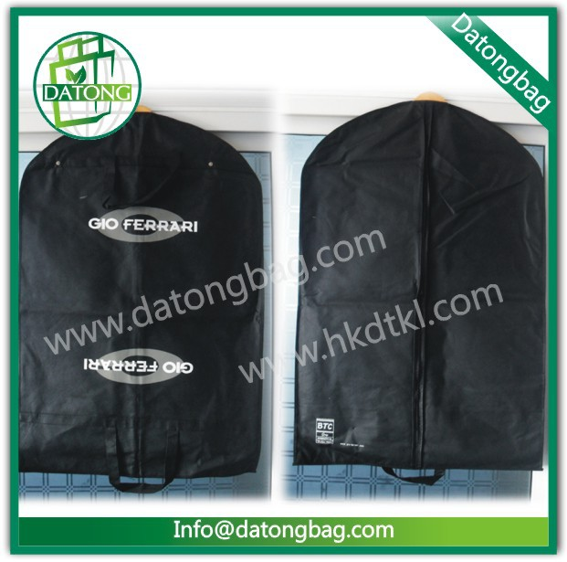 Customized PEVA suit cover foldable garment bag