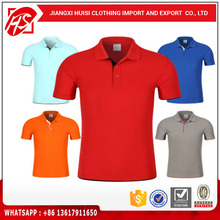 Custom dry fit 100% polyester mens polo golf t shirt