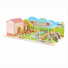 china supplier sublimation magnetic jigsaw puzzle