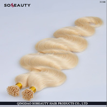 Top Quality Direct Factory Wholesale Virgin Russian Hair Double Drawn 26 inch i-tip hair extensions