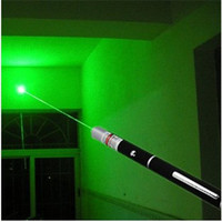 500mw green laser pen electronic pen laser pointer AAA battery