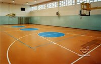 polyurathane basketball sports flooring indoor in saudi arabia