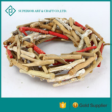 hot design christmas decoration driftwood wreath wooden christmas wreath driftwood wreaths for sale