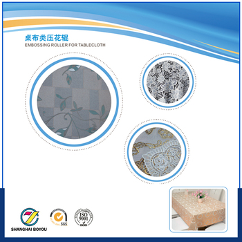 Laser engraving fabric embossing roller for embossing machine