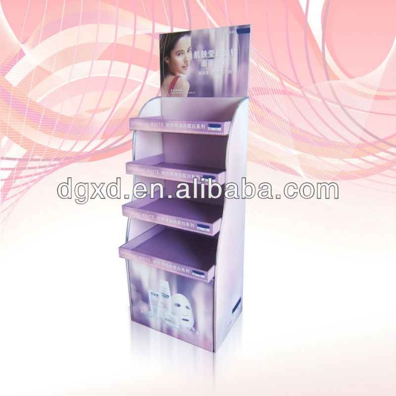 custom printing corrugated paperboard promotion display, gift card display, toy display