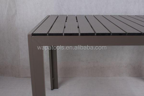 1.5m Aluminum garden table
