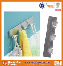 stainless steel towel hanger/metal display rack with hanging hooks