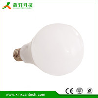 3w 5w 7w 9w 12w 15w high brightness plastic coated e27 led bulb light 220V