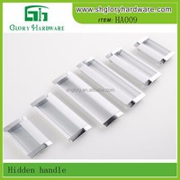 Qualified Professional Aluminum Cabinet Lever Handle