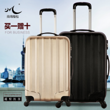 2016 new design aluminium luggage suitcase, trolley case,18,21,25,28 carry-on luggage