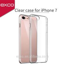 EXCO free sample transparent Mobile phone case from guangzhou for iPhone 7