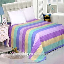 China 80gsm 230cm 75DX150D 100% polyester fabric microfiber plain pigment printed fabric for bedding sets