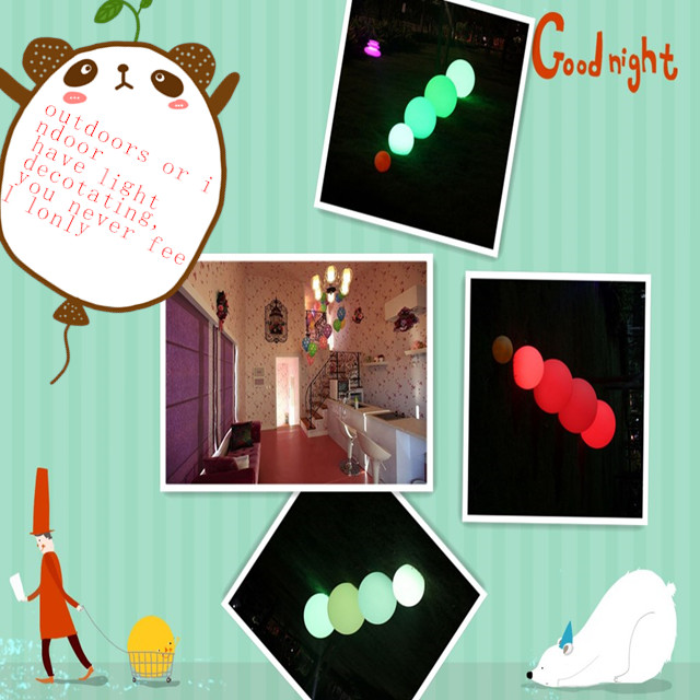 Factory outlets customized white lawn balloon PVC +LED light balloon question mark printed balloon