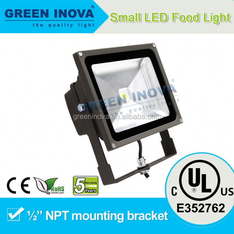 Bronze 5 years warranty cULs LED flood light outdoor garden project lamp