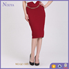 more color chooice women wine red knee skirts tight skirt for wear