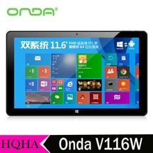 ONDA V116w Dual Boot Tablet 11.6 inch IPS Screen Win8.1 & Android 4.4 3G Phone Call Tablet PC