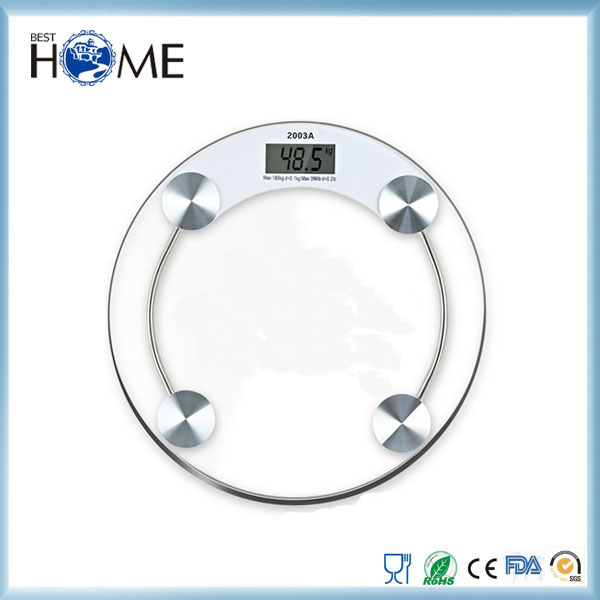 Personal Electronic Digital Body Fat Weight Bathroom Scale