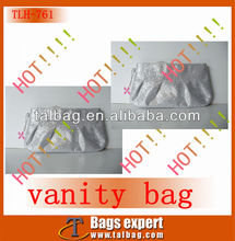 shiny and gleamy preen bag with cute accessory for promotion use