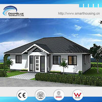 Prefab house design bali bungalow