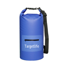 Single Strap High Quality PVC Tarpaulin Moisture-proof Bag Outdoor Waterproof Dry Bag
