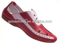 Low cost high quality fashion summer shoes for men in guangzhou