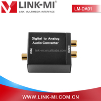 LM-DA01 Mini 24-bit S/PDIF Audio Video Converter Digital to Analog Support Sampling Rate at 32, 44.1, 48 and 96 KHz