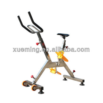 Water exercise bike for gym